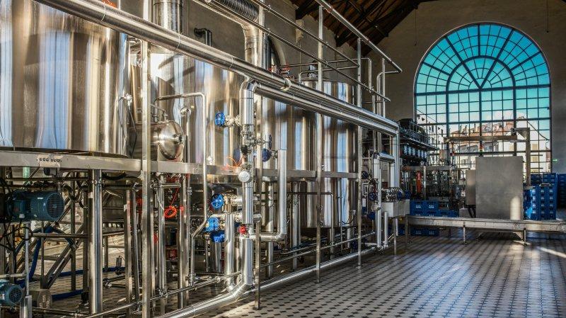 La Chaux-de-Fonds: la bière coule à l'ancienne Usine électrique