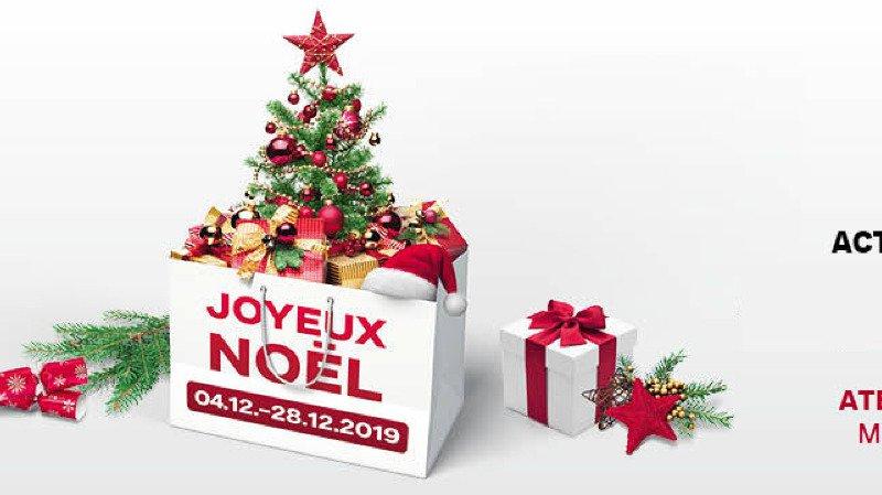 Ateliers, Père Noël et carrousel