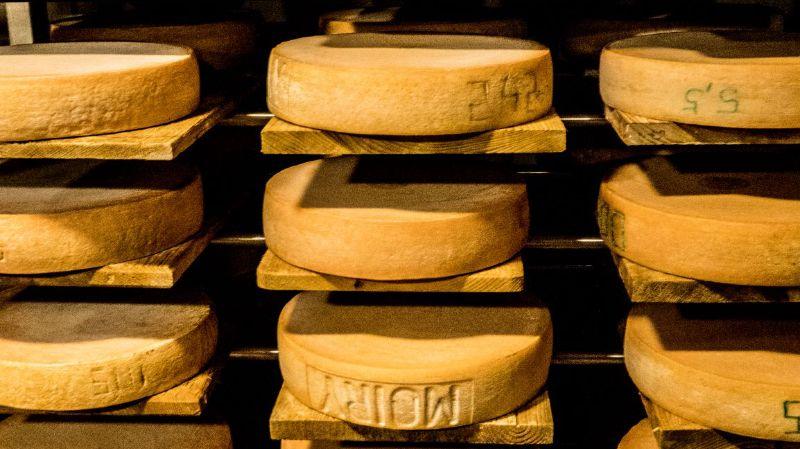 Visite de la fromagerie de Vissoie et dégustation