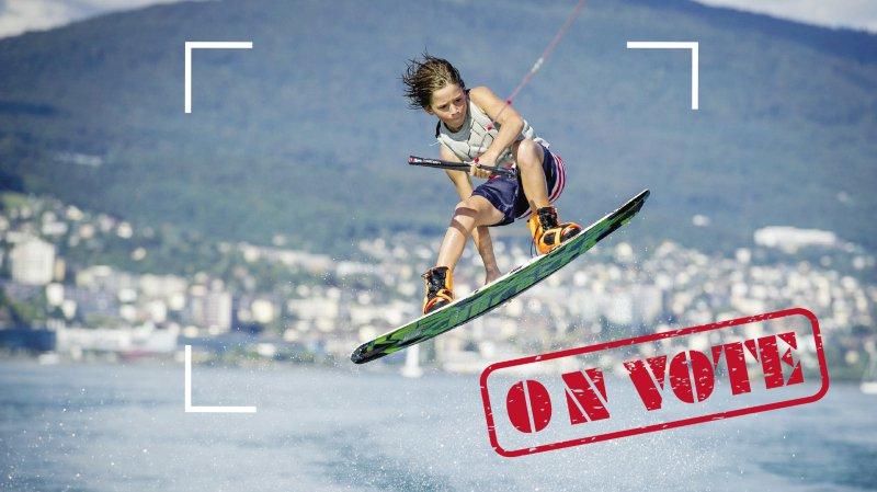 Votez pour votre photo sportive favorite et élisez le gagnant du Prix ArcInfo