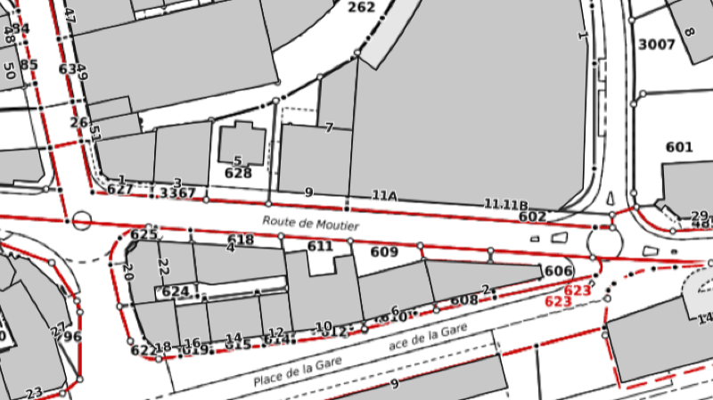 Delémont: une route sera fermée mardi afin de démonter une grue de chantier