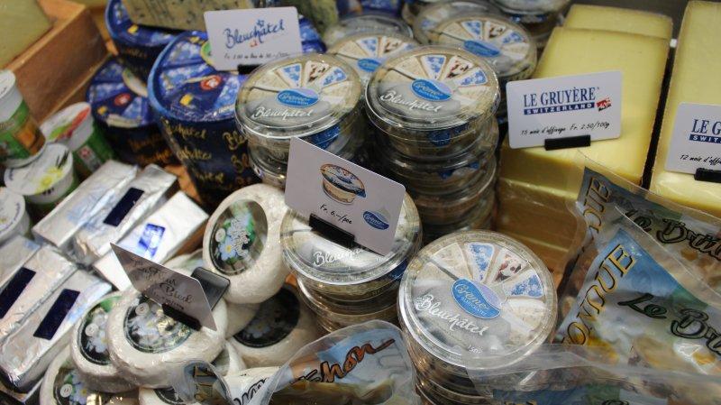 Bleuchâtel, gruyère, fleur du bied, britchon: autant de fromages produits dans le canton de Neuchâtel.