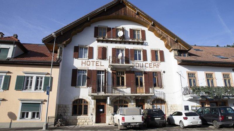 La Maison de la tourbière devrait ouvrir en 2021, dans l'hôtel du Cerf des Ponts-de-Martel.