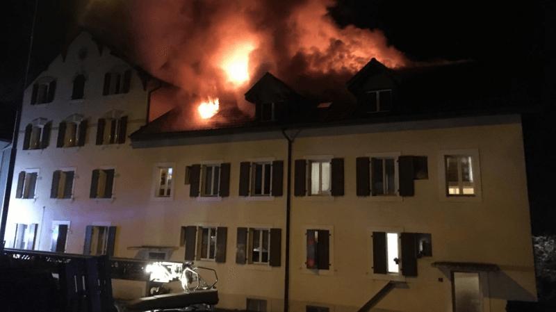 Les pompiers ont été alertés vers 2h du matin.