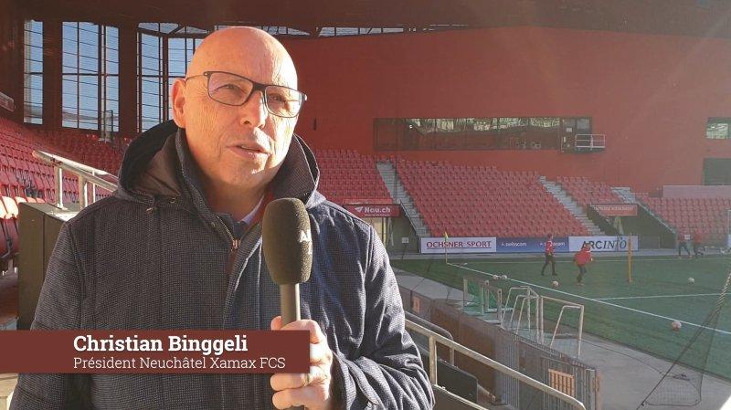 Les vœux de fin d'année de Christian Binggeli, Pierre Lidy, Cléa Perret et Magali Gaillard