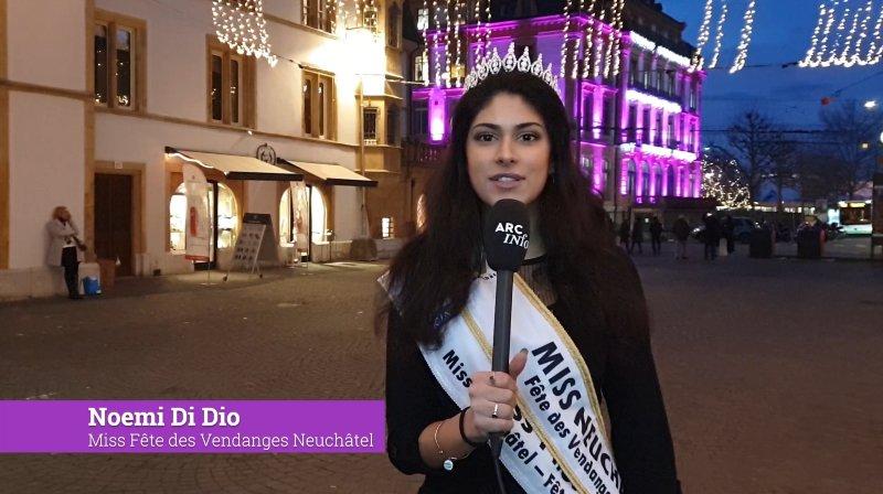 Les vœux de fin d'année de Noemi Di Dio