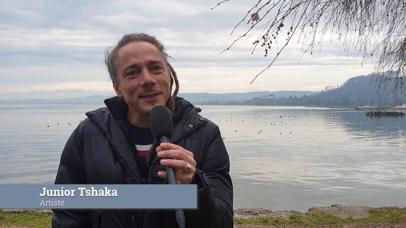 Les vœux de fin d'année de Junior Tshaka et Raphaèle Tschoumy