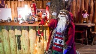 Le Père Noël s'installe pour la dernière fois au domaine de Bel-Air au Landeron