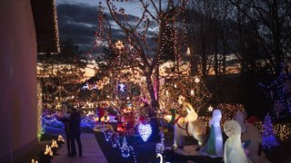 C'est la loi: les décors lumineux ne doivent pas déranger les voisins