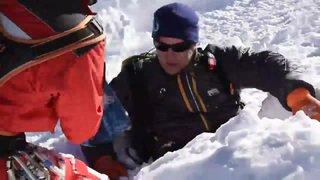 Diablerets: un exercice de sauvetage pour retrouver des victimes d'avalanche