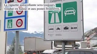 L'e-vignette devrait être disponible en Suisse dès 2022