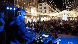 Les commerçants font danser Neuchâtel