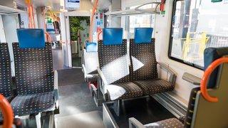 Depuis le 1er janvier, une rame Flirt moderne circule entre Neuchâtel et Frasne
