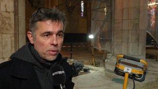 Découvertes archéologiques dans la Collégiale de Neuchâtel