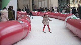 JOJ 2020: les sports d'hiver s'invitent au centre de Lausanne