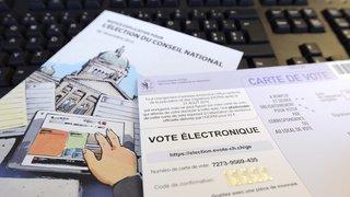 Les essais de vote électronique doivent être suspendus
