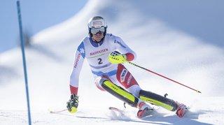 Ski alpin: Ramon Zenhäusern 3e de la première manche du slalom de Val d'Isère, le Français Pinturault devant