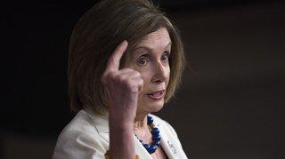 La cheffe des démocrates Nancy Pelosi demande que soit rédigé l'acte d'accusation contre Trump, celui-ci réagit