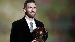 Football: le Ballon d'Or 2019 attribué à Lionel Messi
