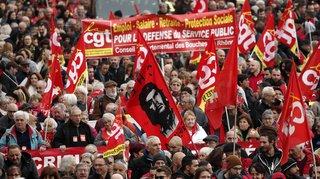 Grève en France: plus de 180'000 personnes ont manifesté contre la réforme des retraites