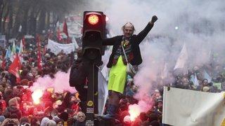 Grève en France: plus de 800'000 personnes ont manifesté contre la réforme des retraites