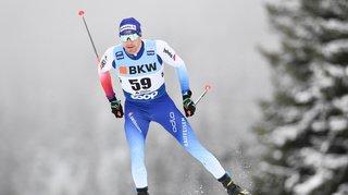 Ski nordique: Dario Cologna termine 3e du 15 km skating de Davos