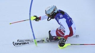 Ski alpin: Holdener 3e après la première manche du slalom de Zagreb, Petra Vlhova devant