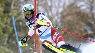 Ski alpin: Wendy Holdener termine 4e du slalom de Zagreb, remporté par Petra Vlhova