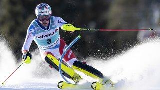 Ski alpin: l'armada des slalomeurs suisses aux avant-postes à Adelboden, Yule en tête