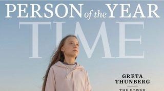 Greta Thunberg, personnalité de l'année