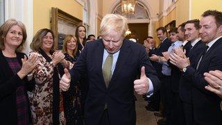 Le triomphe dans les urnes  de Boris Johnson