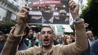 Abdelmadjid Tebboune élu,  la rue le conspue