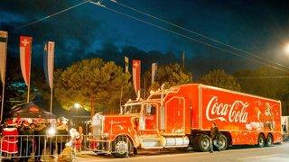 Le camion Coca-Cola passera par La Chaux-de-Fonds
