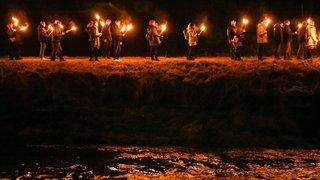 Des flambeaux pour annoncer la nouvelle année au Val-de-Travers