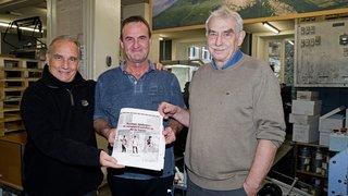 Fleurier: ils terminent le livre de Jacques Kaeslin, décédé en mars dernier