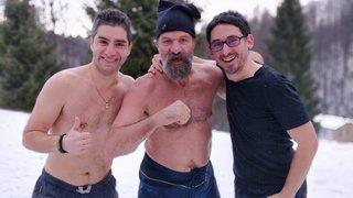 La Brévine: ils vont faire comme «Iceman» à la Fête du froid