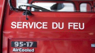 Une personne héliportée après un incendie au Peuchapatte
