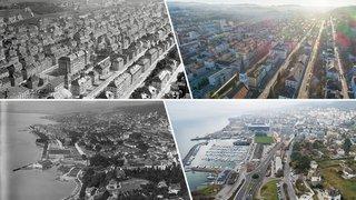 Le canton de Neuchâtel vu du ciel dans les années 1920