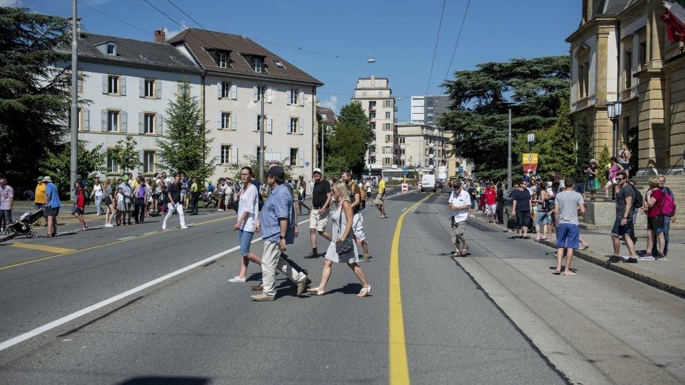 Les travaux prévus sur l'avenue du Premier-Mars pourraient perturber le trafic.