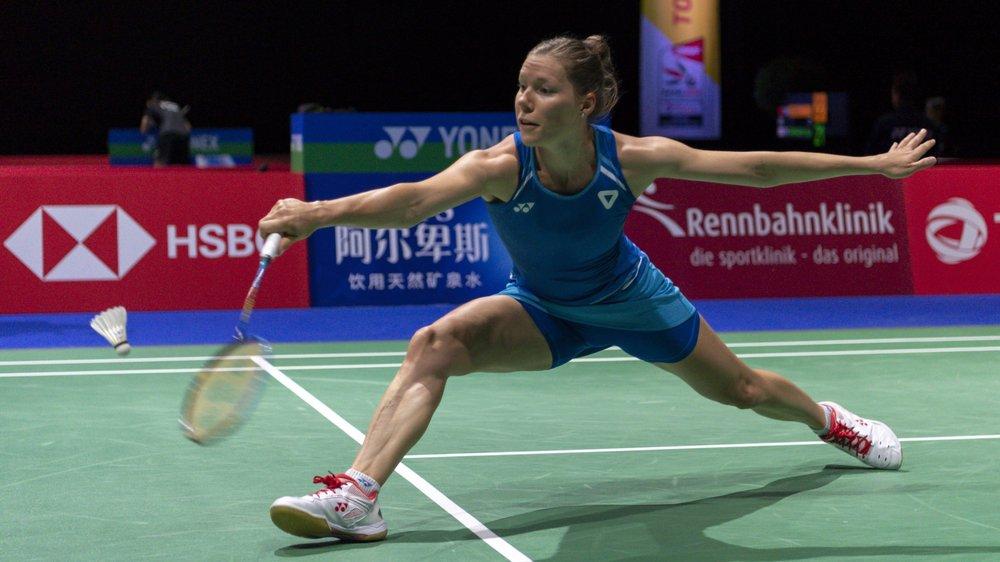 Sabrina Jaquet jouera la semaine prochaine en Thaïlande. (KEYSTONE/Georgios Kefalas)