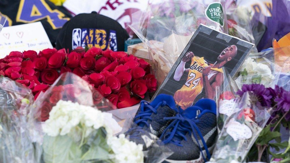 Kobe Bryant, un basketteur dont la mort touche toute la planète.
