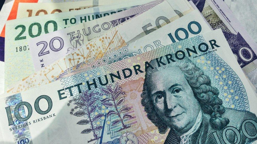 Les 56milliards de couronnes qui circulent encore en Suède ne représentent que 1,2% du PIB.