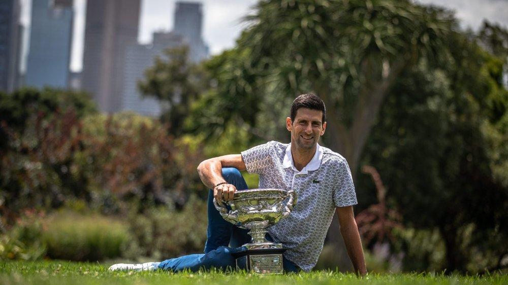 Novak Djokovic est comme dans son jardin à Melbourne. Il a remporté pour la huitième fois l'Open d'Australie.