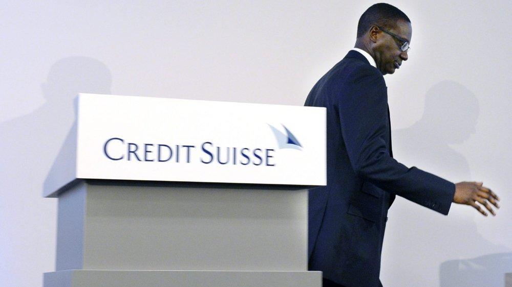 Tidjane Thiam, directeur général du deuxième groupe bancaire suisse, va quitter ses fonctions.