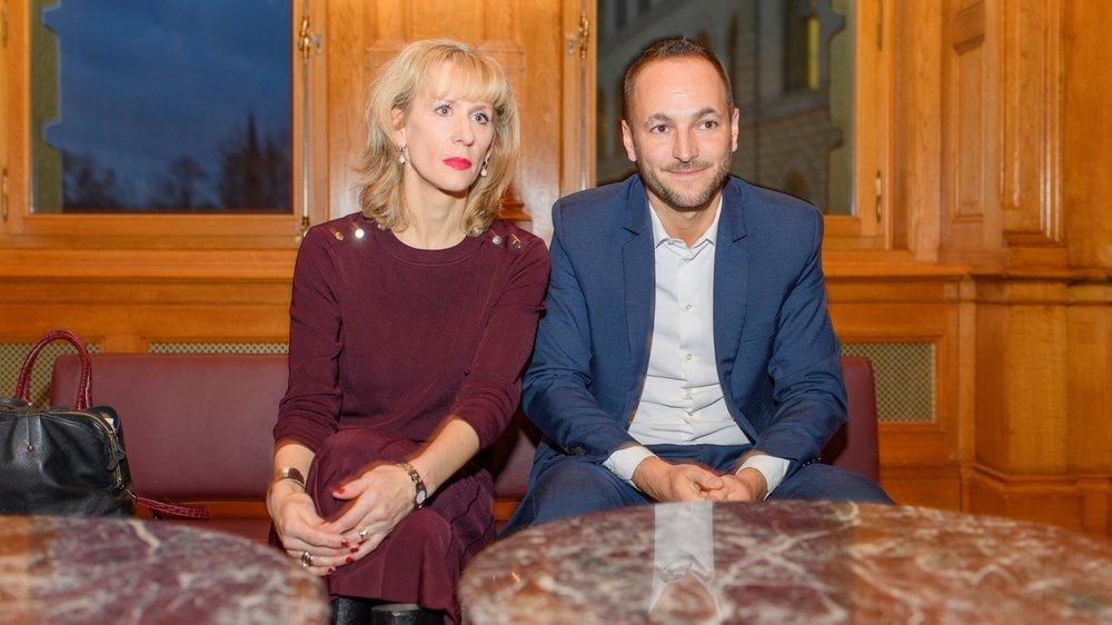 Priska Seiler Graf (ZH) et Mathias Reynard (VS) proposent une coprésidence plus pragmatique que le duo formé par Mattea Meyer (ZH) et Cédric Wermuth (AG).
