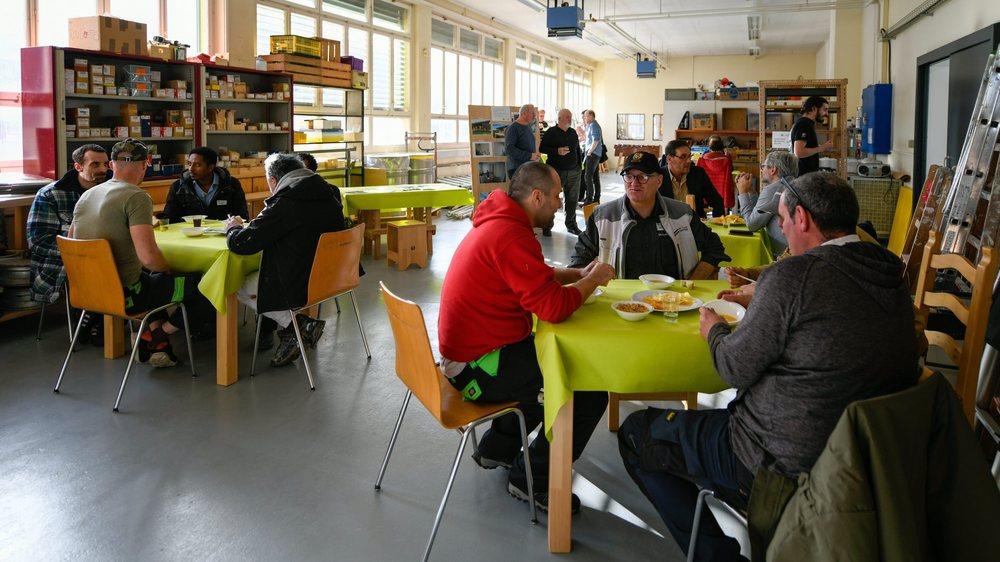 Inauguration des nouveaux locaux de Feu-Vert Entreprise à La Chaux-de-Fonds.