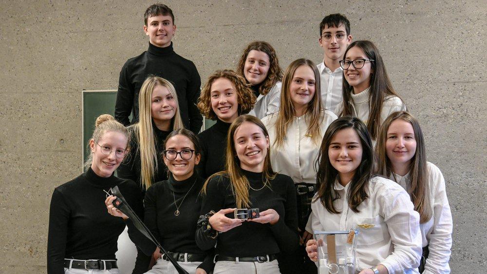 Au lycée Jean-Piaget, des élèves ont créé deux entreprises.