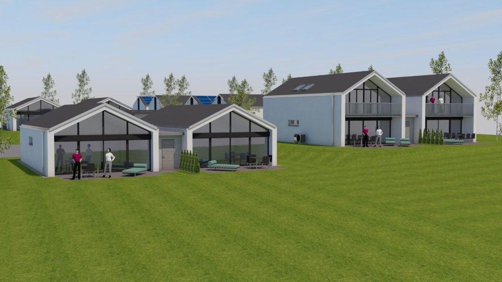 Un pavillon prendra place au centre du lotissement, avec la présence d'un référent pour répondre aux besoins des futurs hôtes.