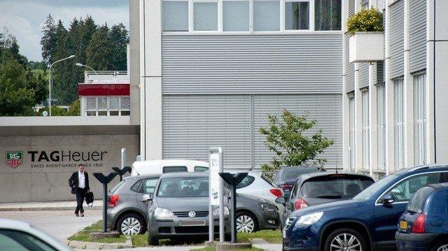 Le bâtiment actuel de TAG Heuer à La Chaux-de-Fonds.