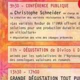 5ème Fête du Divico et des vins du futur - Bramois
